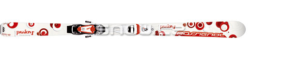 Rossignol Passion I TD2 VAS White/Red