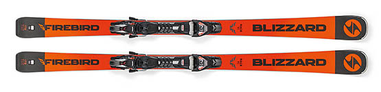 Blizzard Firebird Race TI orange/black